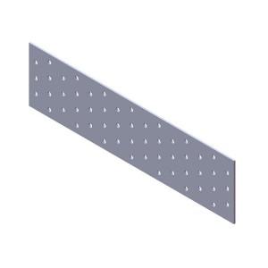 Пластина крепежная 120х 40х2,0мм цинк (100 шт)