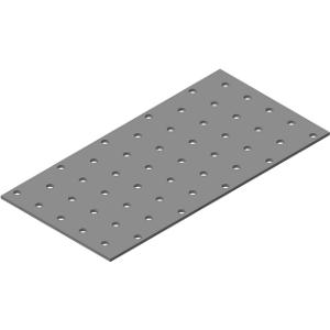 Пластина крепежная 210х 90х2,0мм цинк (50 шт)