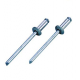 Заклепка вытяжная сталь/алюминий 4,8x20 оцинкованная