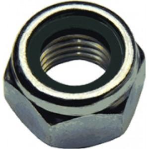 Гайка со стопорным кольцом М 6 DIN 985